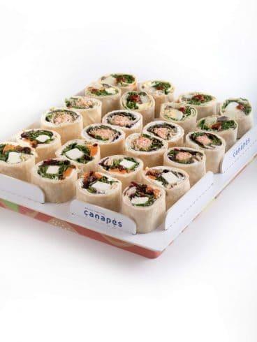 Sushi Style Wrap